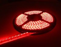 free shipping 5M 335 SMD LED Side View red Light Strip 600 LED 120 Leds/M Waterproof DC 12V