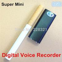 8GB Digital Voice Recorder super mini mp3 player Recording telephone conversations SK-892