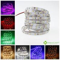led strip 5M 30W 300LED 3528SMD 1200-1400LM 6000-6500K DC12V LED lights decorative lights white  led strip