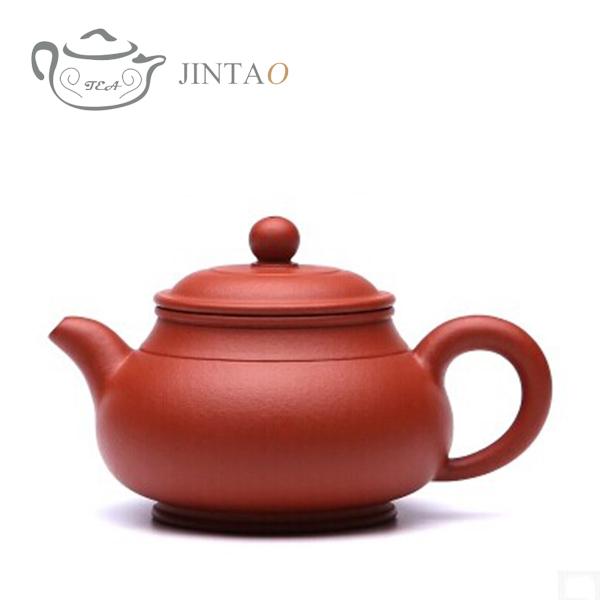 250ml Pan Teapot Yixing Purple Clay tea set kungfu tea set high adaptability for tea
