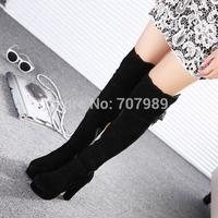 New hot arrive drop fashion BOWTIE knee-high boots for women Winter snow Boots Zipper size 35-39