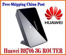 Desbloqueado Huawei B970b Original 3 G wireless Router desbloqueado HSDPA roteador wi fi