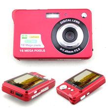 NEW Red Stylish 16MP 2.7″ LCD Digital Camera Camcorder w/AV-Out/SD Slot US Plug