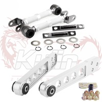KYLIN STORE Rear Camber Kit  for Honda Civic 2001-2005 for Acura RSX 2002-2006 + Lower Control Arms Hard For Honda 01-05 Civic