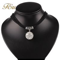 Wholesasle Bohemia 2014 New Gift Fashion Hand Woven Beads Women Necklaces & Pendants Women Pendant neckalce  #870
