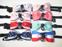 Small Mix Package!!50PC/Lot Handmade Pet Dog Grooming Tie Bows Dog Ribbon Tie Collar Neck Ties Puppy Accessories Free Shipping