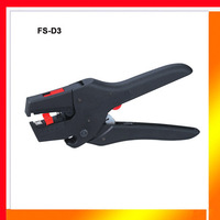 Free shipping high quality adjustable 0.08-2.5mm2 AUTOMATIC CABLE CUTTER & STRIPPER pliers hand stripping tool