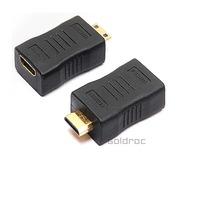 High Quality  HDMI to DVI Adapter Converter MINI HDMI 19 F TO MINI HDMI 19 M
