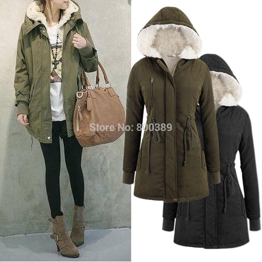 Black Parka Jacket Ladies | Outdoor Jacket