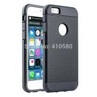 Wholesale 1000pcs/lot Hybrid TPU&PC Shock proof Case For Apple iPhone 6