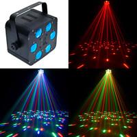 Cree Led DMX 521 Disco DJ Stage Lighting 30W LED Light, Super LED Reflection Projector Laser Light, Sound Activated RGB Light