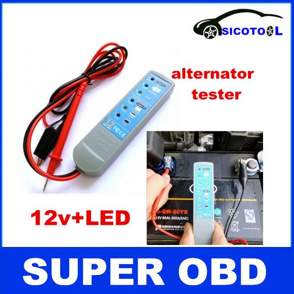 High recomemnd ! car battery analyzer,12v car battery analyzer ,auto battery analyzer ,led car battery voltage meter(China (Mainland))