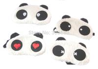 i pcs Cute panda eye / plush panda sleep goggles factory price