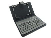 "2014 New design Wireless Bluetooth Keyboard & PU Leather Case for 7"" universal Tablet PC case,free shipping"