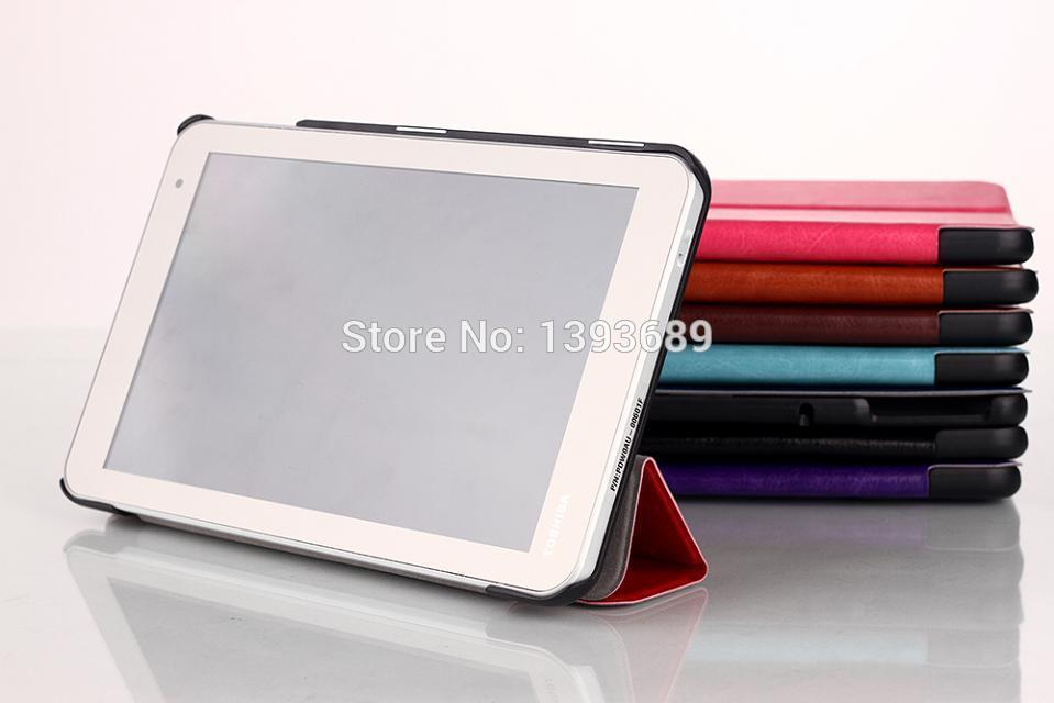2014 newest leather Stand Book Cover Case For Toshiba Encore 2 WT8 8-Inch Tablet,Free Shipping(China (Mainland))