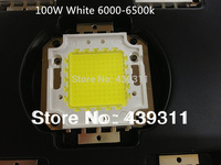 100W LED Integrated High Power Lamp Beads tetragonum White/Warm White 3000mA 32-34V 8000-9000LM 24*40mil Huga Chip Free shipping