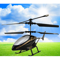 2014 New Fashion Black HX713 RC Helicopter 2.5CH Remote Control Helicopter Radio Control Metal, Free Shipping