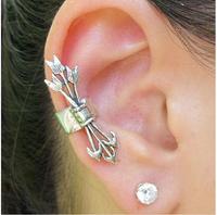 Cheap Sale New 15 pcs/lot Alloy Metal Unisex Retro Clip Earrings Eardrop Ear Cuff Ear Stud Earclip Free Shipping