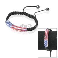 Fashionable  Color Ornament Style Adjustable Bracelet