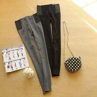 Women's Spring & Autumn new European style elastic waist Slim wild cotton leggings wholesale manufacturers