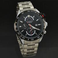 Promotional Brand Curren Men Sports Watches High Quality Full Steel Analog Quartz Watch Day Date Wristwatch 8148 Best Gift