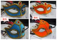 5pcs/Lot Plastic Lover Mask Halloween Props Masquerade Party KTV Masks Costume Play Performance Bar Prince And Princess Eye Mask