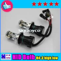 55W 12V H/L H4 hid bixenon bulb H4-3 Hi Lo H4 Bi xenon AUTO H4 bixenon lights headlight lamps H4 high low xenon headlamp