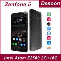 Original zenfone 5 FDD LTE TD LTE Qualcomm MSM8926 Quad Core 1.2GHz Android 4.4 2GB RAM 8GB ROM Corning Gorrila 3 8.0MP/Mary