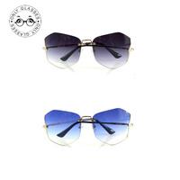 6 colors rimless smu sunglasses fashion cool glasses