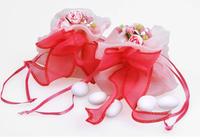 Goblin pocket sweet pink bag | European ideas and joyful wedding party reply yarn bag box | festival