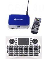 RK3288 Quad Core TV Box CS918II Android 4.4 TV Box CS918 ii 2G/8G Mali-T7 3D GPU BT4.0 2.4G/5GHz XBMC + 500AC Keyboard Mouse #47