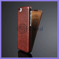 "50pcs/lot 2014 Hot Flip PU Leather Case For iPhone 6 6G air 4.7"" & Ultra Thin Crazy Horse Full Protection Cover FASHION Logo"