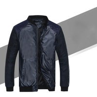 2014 New Arrival Men PU Leather Jacket Coat For Men Men Jacket Free Shipping MWP028