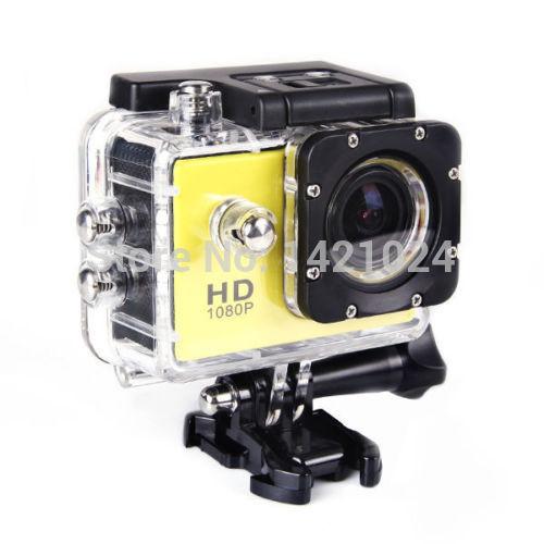 HD DVR Full Esporte DV câmera digital SJ4000 1080P câmera do capacete à prova de água 1,5 polegadas G Senor Motor Mini DV 170 Ampla DVR carro Ângulo(China (Mainland))