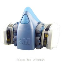 7502 6005 painted formaldehyde gas mask protective masks