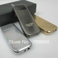 Mini Portable Metal DOLPHIN Ultra Thin Butane Cigarette Gas Cigar Lighter Free Shipping