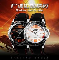 2014 New Arrival men sports watch men quartz wristwatches black rubber strap watch fashion casual watches military 0992