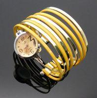 2014 New hot sale wrist mix color stylish ladies bangle diamond watches bracelet casual watch new fashion