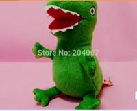 xmas gift doll 17cm  GREEN Dinosaurs  Movie TV plush Stuffed Animals  cartoon Dolls  new arrived gift  Peppa Pig xty007