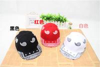 Free shipping Fashion Korean hip-hop male kidney Ms. hip hop baseball cap flat along