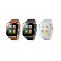 V5 Bluetooth Smart Watch WristWatch with Anti-lost 1.44'' Touch Screen for iPhone Samsung Android Mobiles Phone