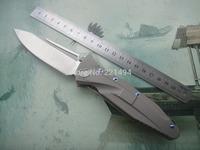 Wanderful Quality Free Shipping  Kevin John Brand  STRIDER SOCOM type TC4 Titanium Handle S35VN blade folding knife