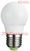 6pcs/lot Free shipping ceramic led bulb E27 3w 5w2835Smd Led Bulb E27 360 Degree Energy Saving Led Light Wholesale