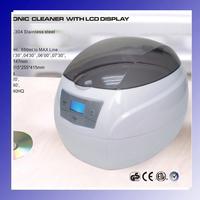 JP-900s 750ml 50W Mini Glasses Watch Jewelry CD Digital Ultrasonic Cleaner Bath