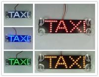 Car styling Taxi led light 17X4cm LED logo third brake light additional brake lights led refit car light for taxi