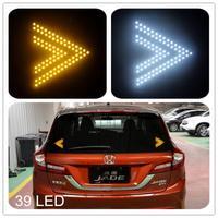 Free shipping car styling car third brake light parking small arrow indicator 39 LED Light for toyota mazda 3