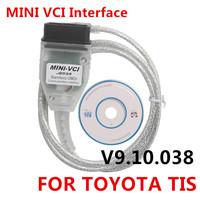 2014 Latest version V9.10.038 MINI VCI Interface FOR TOYOTA TIS Techstream V9.10.038, MINI VCI J2534 OBD2 diagnostic tool