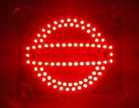 2014 Hot high quality Car styling third brake light  LED light effectively prevent rear-end parking Light for Nissan