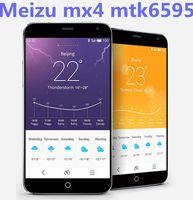 original meizu mx4 phone mtk6595 octa core , 20MP camera , gorilla glass screen , Russian Hebrew language , Free shipping