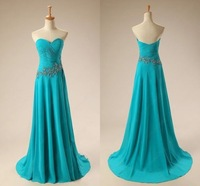 Formal Long Chiffon Ball Gown Evening Party Prom Bridesmaid Dress Cocktail Gowns